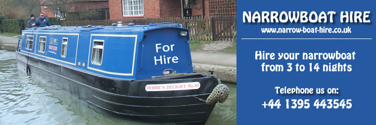 Narrow Boat Holiday Hire with Chas. Hardern Boats